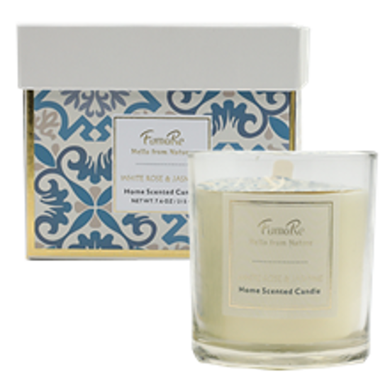 Picture of Fuma Re Nature 215gram Scented Candle Rose/Jasmine