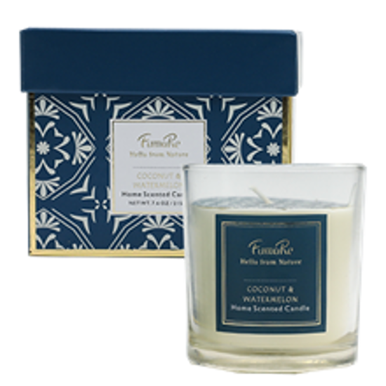 Picture of Fuma Re 215gram Scented Candle Vanilla and white Sandlewood