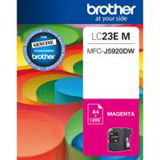 Picture of Brother LC-23E Magenta Ink Cartridge