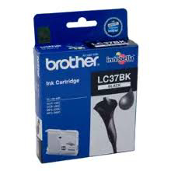 Picture of Brother B37B  Black Ink