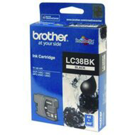 Picture of Brother LC38BK Black Ink