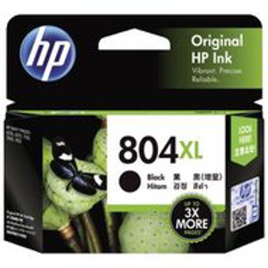 Picture of HP #804XL Black Ink Cartridge