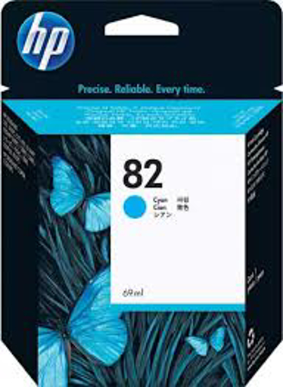 Picture of HP #82 Cyan Ink Cartridge