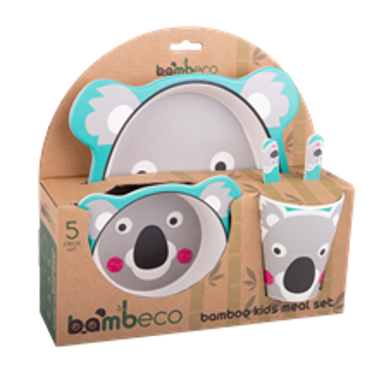 Picture of Bamboo 5 pce Meal Set - Koala